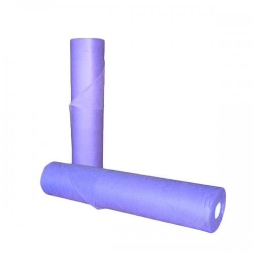 Еднократни TNT чаршафи ролка в лилаво 60 см или 70 см
