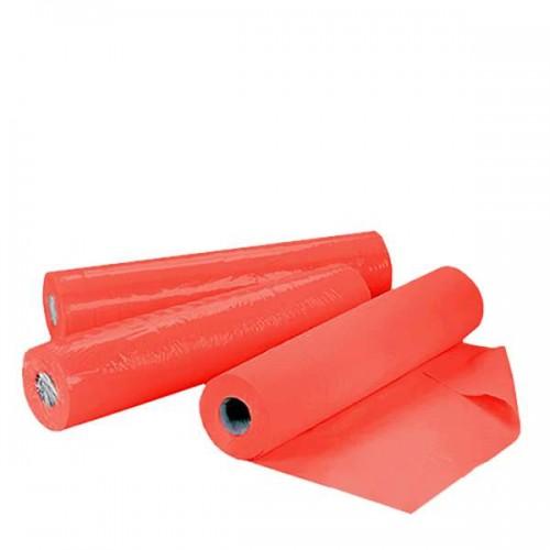 Еднократни TNT чаршафи ролка в червено