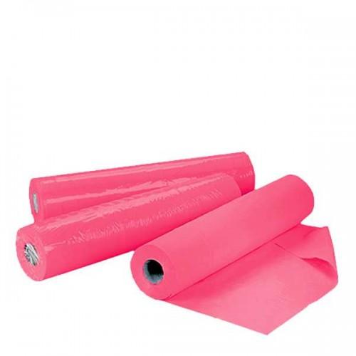 Еднократни TNT чаршафи ролка в розово 60 см или 70 см