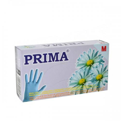 Сини ръкавици от нитрил 100 бр.