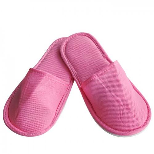 Еднократни плътни ТНТ чехли, Розов цвят