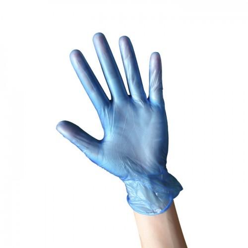 Нитрилни ръкавици за еднократна употреба, 100 броя  - Сини