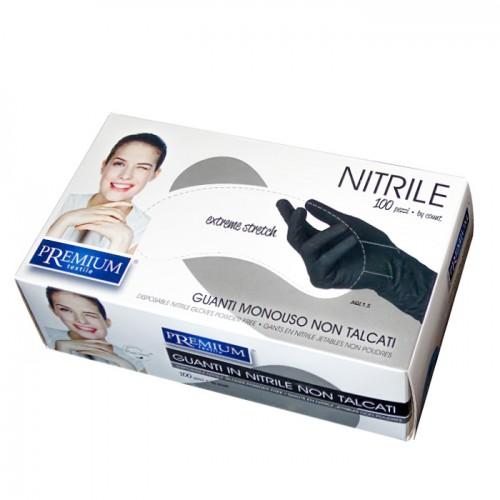 Защитни ръкавици от нитрил Premium, без талк, 100бр