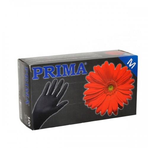 Нитрилови ръкавици за еднократна употреба - кутия 100 броя - Черни