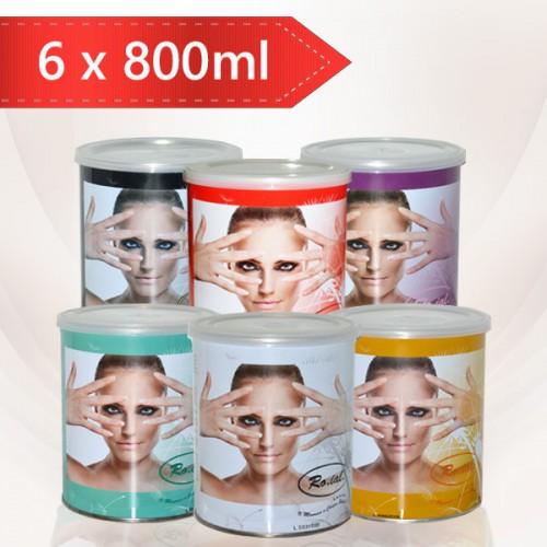 Промоционален  пакет с кола маска кутия 800 мл. - 6 броя