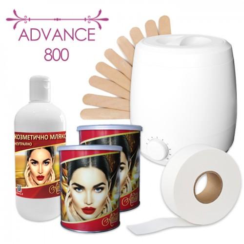 Комплект от 6 подбрани продукта за професионална епилация – Advance 800