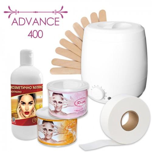 Комплект от 6 подбрани продукта за професионална епилация – Advance 400